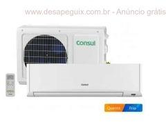 Ar-Condicionado Split Consul 7000 BTUs Quente/Frio - Filtro HEPA Facilite CBW07AB 220 Volts