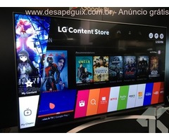 LG Curved 65-Inch 4K Ultra HD Smart OLED TV