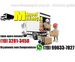 Mudanças, Fretes e Carretos para Campinas SP e Região - Manoel Mudanças