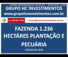 Fazenda situada em Santa Catarina SC total: