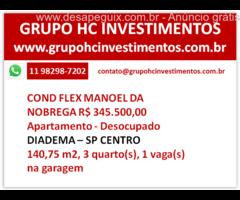 COND FLEX MANOEL DA NOBREGA  R$ 345.500,00 EXCELENTE PREÇO!!