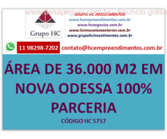 ÁREA 35.000 100% PARCERIA EMPREENDIMENTOS INCORPORA