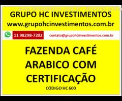 FAZENDA DE 150 HECTARES CAFÉ ARÁBICO PRODUÇÃO