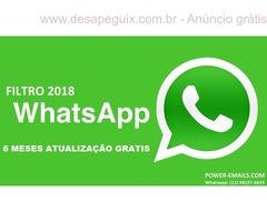 Filtro Whatsapp Marketing 2018