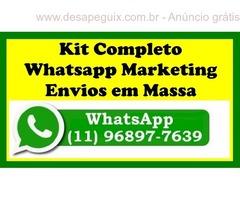 Kit Whatsapp Marketing Envios Em Massa 2018