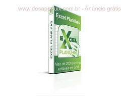 Pacote de Excel Planilhas