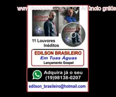 EDILSON BRASILEIRO CD Em Tuas Águas