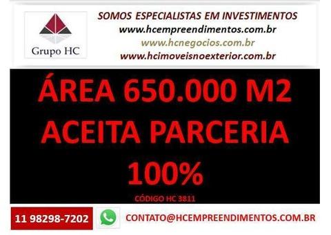 Área de 650.000 m2 para loteamento em Três Corações 100% parceria por unidades