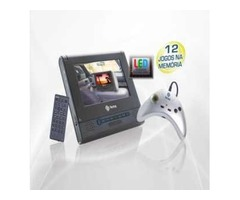 "DVD Player Automotivo c/ Tela LCD 7"""