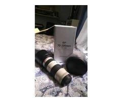 Troco lentes canon por 70 200 2.8 L II IS