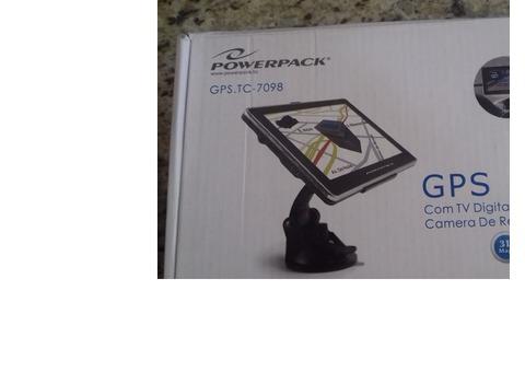 GPS com TV para carros e câmera de ré