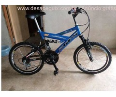 "Bike R20"" Full Suspensão"