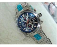 Relogio - Esportivo de Luxo - Caixa e pulseira em aço - TG He Cronografo/Datador