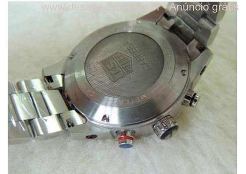 b832550bd74 ... Relogio - Esportivo de Luxo - Caixa e pulseira em aço - TG He  Cronografo