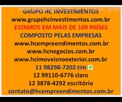 Grupo HC Investimentos busca Parceiros - Corretores com Creci que tenham imóveis para parceria